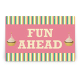 Girlie Cakes Party Greeting Signs