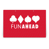 Playing Cards Party Greeting Signs