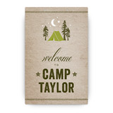 Campsite Party Greeting Signs