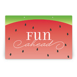 Watermelon Party Greeting Signs