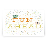 Farm Friends Party Greeting Signs