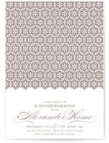 Elegantly Simple Housewarming Party Invitations