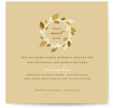 Autumn Wreath Housewarming Party Invitations