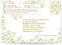 Recipe Housewarming Party Invitations