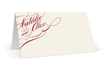 Winter Flourish Place Cards