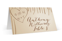 Fall Carving Place Cards