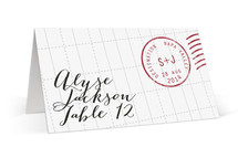 A Faraway Destination Place Cards