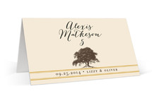 Oak Tree Place Cards