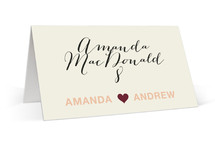 just married Place Cards