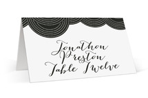 Pearls on a String Place Cards