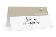 SWEET LINEN Place Cards