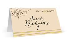French Vintage Place Cards
