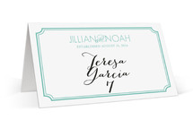 Modern Classic Place Cards