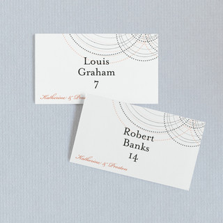 Intricate Place Cards