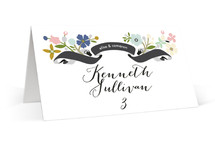 Banner + Branches Place Cards
