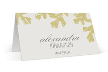 Autumn Leaves Wedding Place Cards