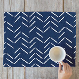 Herringbone Incomplete Placemats