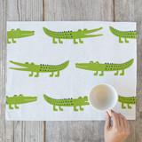 friendly crocodile by Katerina