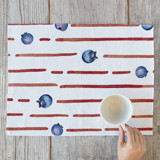 Summer Blueberry Stripe by Leigh