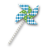 Blue Big Top Circus Pinwheels