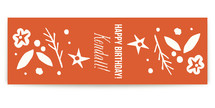 fanfare Table Runner