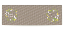 Wooded Blooms Table Runner