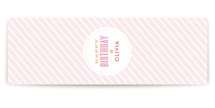 Pink Big Top Circus Table Runner