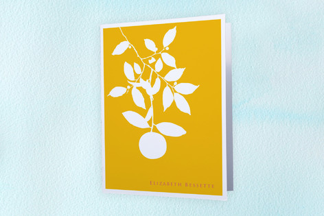 Tree Folded Personal Stationery