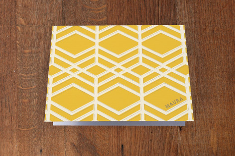 Sunny Disposition Folded Personal Stationery
