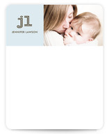 modern mommy Photo Stationery Cards