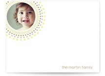 Joyful Bursts Photo Stationery Cards