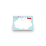 The Birthday Plane Mini Notecard Favor