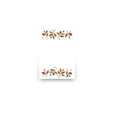 Foliage Thanksgiving Mini Notecard Favor