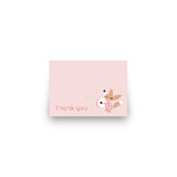 Fox Festive Mini Notecard Favor