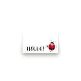 Little Ladybug Mini Notecard Favor