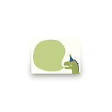 Cakeasaurus Dinosaur Mini Notecard Favor