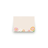 Sweet Clementine Mini Notecard Favor