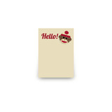 Sock Monkey Mini Notecard Favor