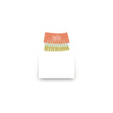 Delight Mini Notecard Favor