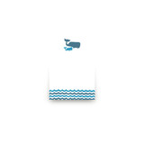 Big Whale Little Whale Mini Notecard Favor