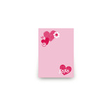 XOXO Mini Notecard Favor