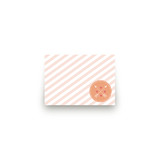 Conversation Heart Valentine Mini Notecard Favor