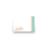 Matthiola Mini Notecard Favor