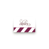 Red Velvet Mini Notecard Favor