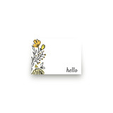 Wild Gardens Mini Notecard Favor