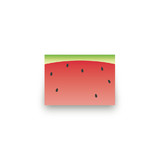 Watermelon Mini Notecard Favor
