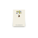 Gentleman Bear Mini Notecard Favor