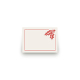 Holiday Stripes Mini Notecard Favor