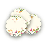 Princess Crown Scalloped Stickers