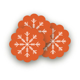 Nordic Joy Scalloped Stickers